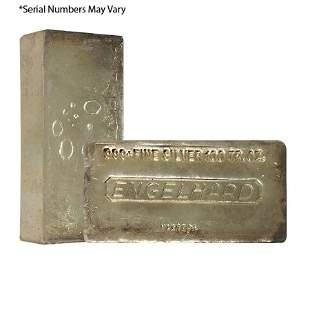 100 oz Engelhard Silver Vintage Bar .999+ Fine (7th