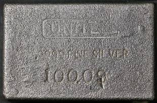 Authentic 100 Ounce Silver Bar - UNITED (100.09ozs) -