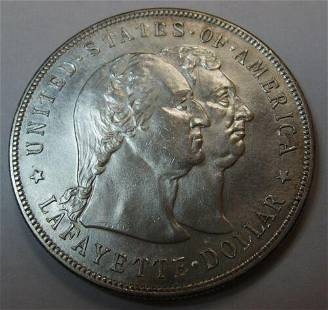 Authentic Attractive Choice Uncirculated 1900 Lafayette