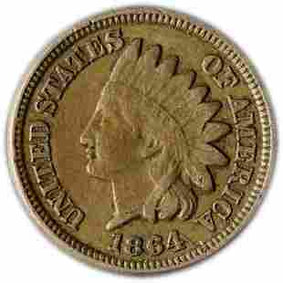 Authentic 1864CN Indian Cent Great Deals From The