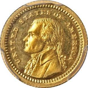 Authentic 1903 LA Purchase Commemorative Gold $1 CAC