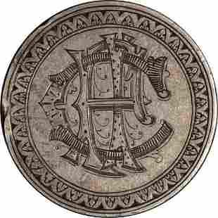 Authentic 1881 Morgan Silver Dollar Love Token 'CPI'