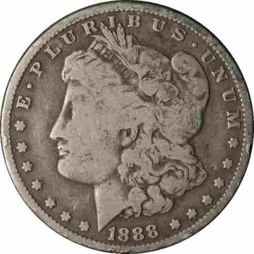 Authentic 1888-O Morgan Silver Dollar Great Deals From