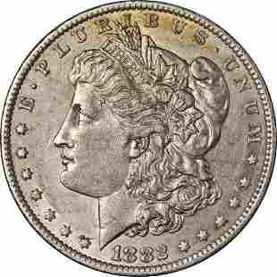 Authentic 1882-O/S Morgan Silver Dollar 'Broken' Early