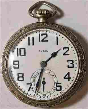 Authentic Elgin B.W. Raymond Grade 478 Pocket Watch 16