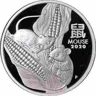 Authentic 2020-P Australia Year of the Mouse 1 Ounce