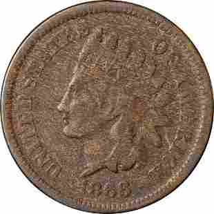 Authentic 1866 Indian Cent Great Deals From The