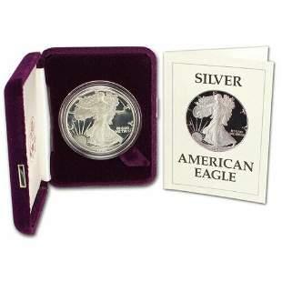 Authentic 1987-S DCAM Gem Proof Silver Eagle Original
