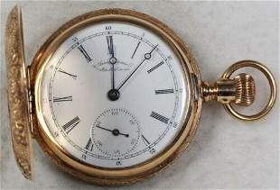 Authentic American Waltham Gorgeous Case Pocket Watch 6