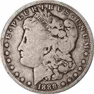 Authentic 1888-O Morgan Silver Dollar - VAM 4 - Hot