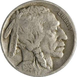 Authentic 1919-D Buffalo Nickel - BBNB6683 Great Deals