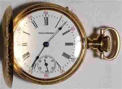 Authentic American Waltham Seaside Model 1891 Pocket
