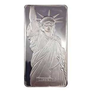 1986 10 oz Engelhard MTB Liberty Trade Silver Vintage