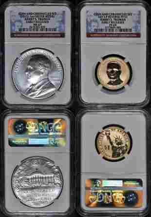 Authentic 2015 Harry S. Truman Coin & Chronicles Set