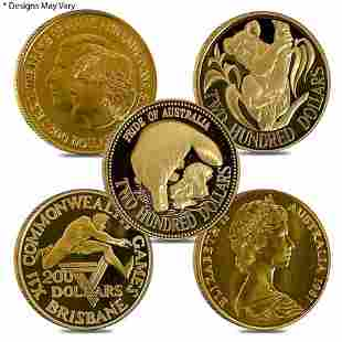 Royal Australian Mint $200 Gold Commem Coin BU/PF AGW