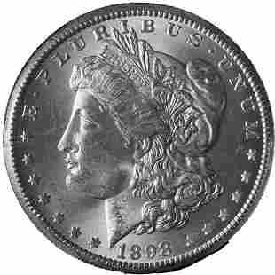 Authentic 1898-O Morgan Silver Dollar PCGS MS64 Blast
