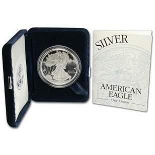Authentic 1996-P DCAM Gem Proof Silver Eagle Original