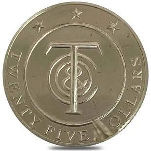 31.5 gram Tiffany & Co Sterling Silver Tiffany Money