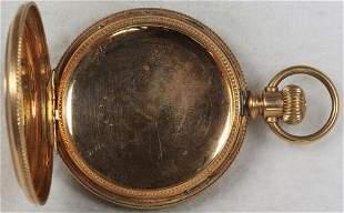 Authentic Dueber Pocket Watch Case No Movement 6 Size