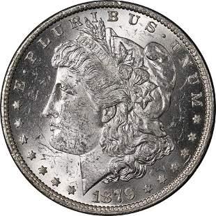 Authentic 1879-O Morgan Silver Dollar Nice BU+ Bright