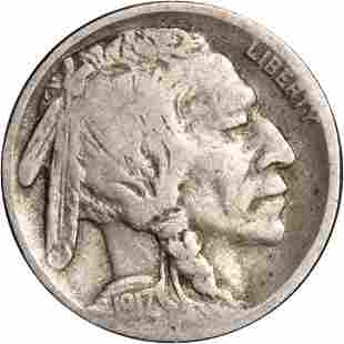 Authentic 1917-S Buffalo Nickel - 2-Feather Great Deals