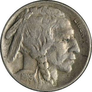Authentic 1919-S Buffalo Nickel Great Deals From The