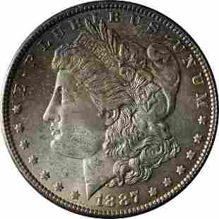 Authentic 1887-P Morgan Silver Dollar Great Deals From