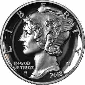 Authentic 2018-W Palladium American Eagle $25 NGC PF70