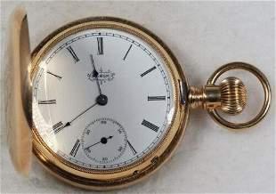 Authentic Elgin Grade 45 Pocket Watch 6 Size 13 J. 14k
