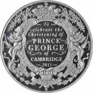 Authentic 2013 Great Britain Silver Kilo 500 Pound NGC