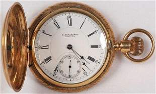 Authentic E. Howard & Co. Model VII Pocket Watch 18