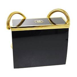 Authentic CHANEL LADIES FIRST 5x5 Single Chain Clasp