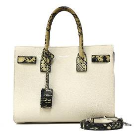 Authentic SAINT LAURENT Shoulder Bag Handbag Sucked