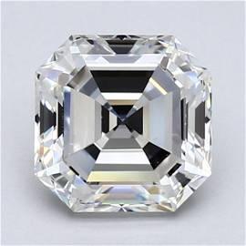 Loose Diamond - ASSCHER 2 CT  VS1 VG G