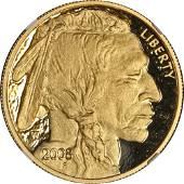 Authentic 2008-W Buffalo Gold $50 NGC PF70 Ultra Cameo