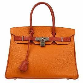 Authentic HERMES BIRKIN 30 Hand Bag