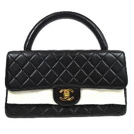 Authentic CHANEL Quilted CC Hand Bag