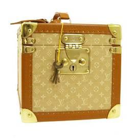 Authentic LOUIS VUITTON BOITE FLACONS HAND BAG COSMETIC