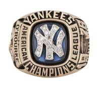 1976 Official New York Yankees American League