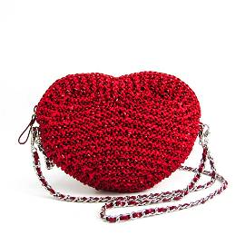 Authentic Anteprima Heart-shaped Chain Wire,Satin
