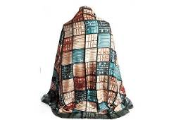 Authentic Chanel New Containers Rust Silk Shawl