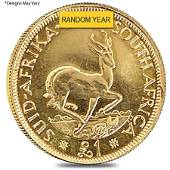 South Africa 1 Pound Gold Coin BU/Proof (Random Year)