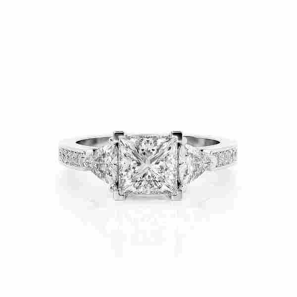 Diamond Ring .45 Ct TCW Gold 4K 3.50 g