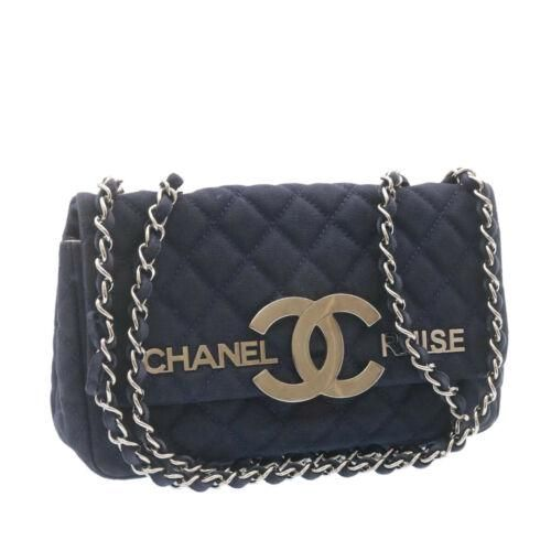 Authentic CHANEL Cruise Line Matelasse Double Chain