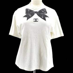 Authentic CHANEL CC Short Sleeve Tops