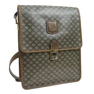 Authentic CELINE Macadam Shoulder Bag