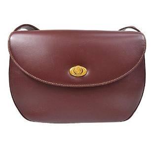 Authentic Must De Cartier Shoulder Bag
