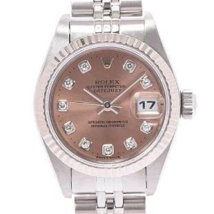 Authentic ROLEX Datejust 10P Diamond 79174G watch