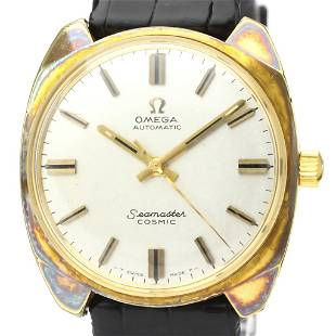 Authentic Omega Seamaster Automatic Gold Plated Men's