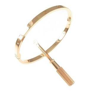 Authentic Cartier Love bracelet Small